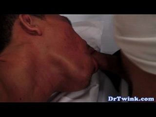 Oriental Doctor Twink Fills Patients Ass