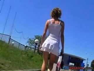 Upskirt3 Bus
