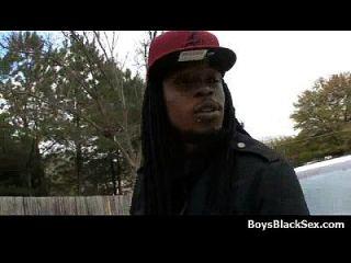 Blacks On Boys - Nasty Gay Interracial Hardcore Action 04