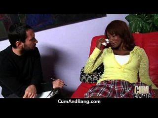 Ebony Girl Gets Slammed By Some White Dudes 9