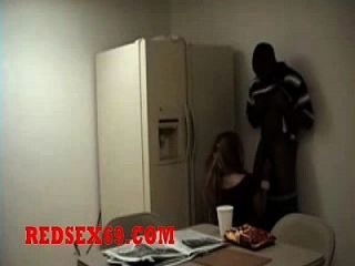 Girl Gets Fucked In Break Room