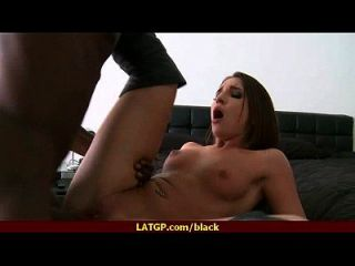 Hot Milf Deepthroats Gags And Gets Banged By A Black Cock 15