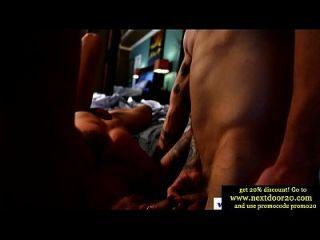 Jocks In Muscle Threeway Sucking
