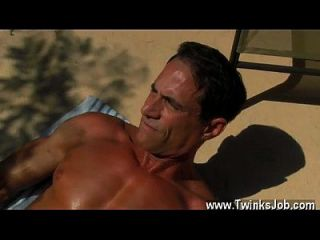 Gay Xxx With The Men Jizz Dripping Down His Suntanned Back, Daddy
