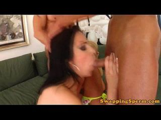 Sperm Swapping Whores Moaning Loudly