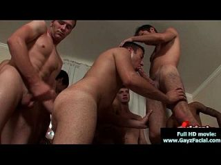 Bukkake Boys - Gay Guys Get Covered In Loads Of Hot Cum 16