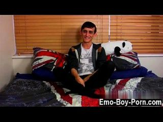 Gay Clip Of 20 Year Old Jake Wild Is A Naughty Emo Lad Who Is Into
