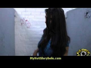 Interracial - White Lady Confesses Her Sins At Gloryhole 21