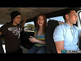 Redhead Teen Hottie Blake West Gets It.1