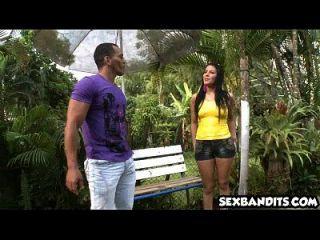 Amazing Poolside Doggystyle With Hot Latina Babe 09