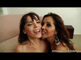 Cum And Spit Swapping Sluts