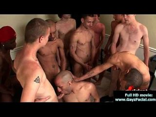 Bukkake Boys - Gay Guys Get Covered In Loads Of Hot Cum 06