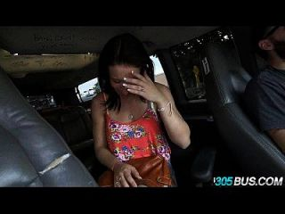 Big Ass Brunette Elisa Verricci Fucked On 305bus 2.1