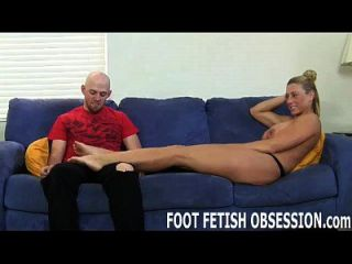 Shoot Your Hot Cum All Over My Feet