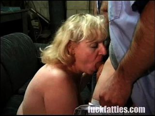 Mechanics Gangbangs A Horny Blonde Bbw