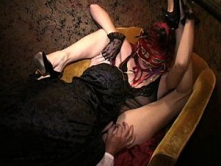 Longest Upload Masked Leggy Milf Fucked Hard In Group Licks Cum Off Cock