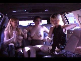 Best Amateur Lesbian Limousine Orgy