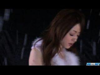 Amazing Solo Cam Show With Superb Ria Sakurai