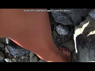 Hot Amateur Porn With Awesome Sex On The Beach Scene 2