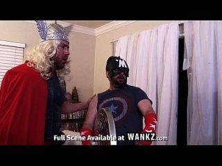Assvengers Porn Parody - Episode Iii: Assvengers Assemble!