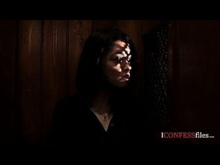 Confessionfiles: Ava Dalush Fucks The Priest