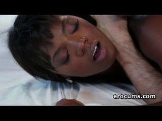 Choco Beauty Ana Foxxx Taking Big White Pecker