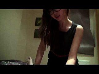 Perfect, Cute Nerdy Asian Girlfriend Blowjob