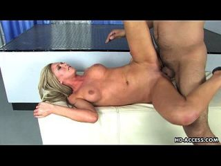 Blonde Whore With Juicy Boobs Gets Doggy Style Ravaged