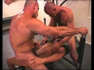 Vintage Muscle Daddies Bb 3-way Workout