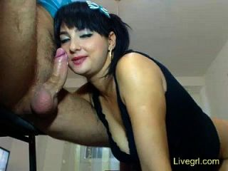 Milf Loves Deep Blowjob And Rimjob