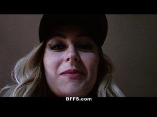 Bffs - Summer Camp Counselors Record Lesbian Orgy