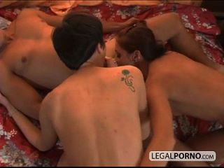 Hot Buttholes Penetrated In Rough Threesome Sl-2-01