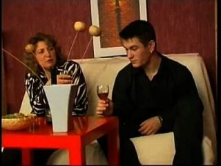 Russian Mom Drank Wine With Her Boy