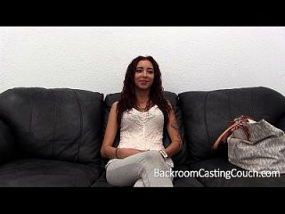 Petite Latina Amateur Adriana Anal Fail & Creampie