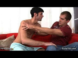 Lovely Married Guy Brandon Lewis Gets Nailed