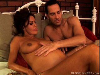 Pregnant Mature Pornstar Nancy Vee Is A Hot Fuck