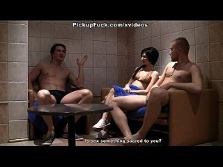Skinny Girl Gives Head At Stag Party Scene 3