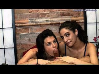 Lick, Suck And Kiss With Sharron And Mouna