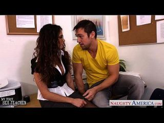 Hot Sex Teacher Ariella Ferrera Fuck Her Younger Student