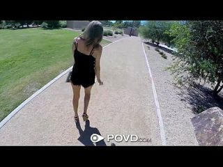 Hd Povd - Alexis Adams Fucks A Stranger From The Park