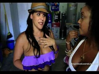 Big Titted Cuban Angelina Castro Rewards A Helping Hand