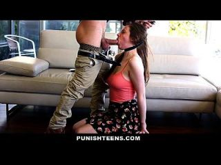 Punishteens - Teen Gets Punished By Her Step Daddy