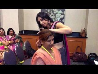 Hot Kannada Milf In Sleeveless Blouse And Navel Show