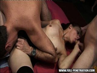 Trinity - Gangbang Fuckers At A Real Sex Club