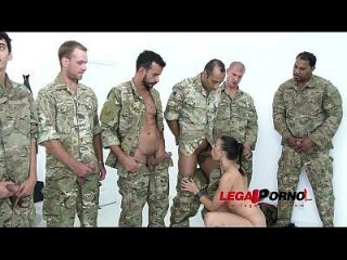 10 Men Anal Gangbang For Billy Star Sz961