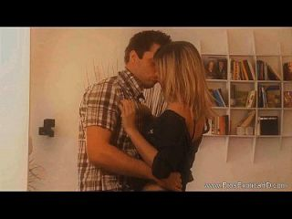 Loving The Milf Kissing Her Softly