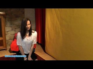 Tempting Lapdance By 18yo Czech Teen
