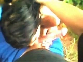Indian Randi Girl Fucking A White Cock Outdoors