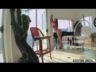 Skanky Dani Daniels Bounces On A Big Cock Guy For A Reverse Cowgirl