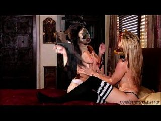 A Damn Wild Morning Lesbo Sex With Horny Jenna And Goldie
